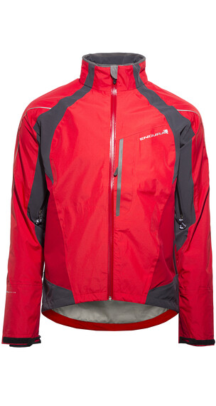 Endura Velo II Jacket red